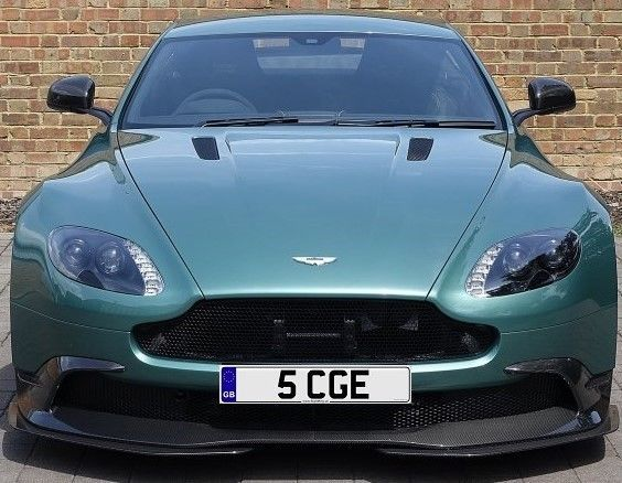 Private Number Plate: 5 CGE