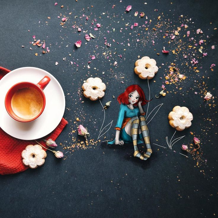 Кофейные сказки от Cinzia Bolognesi