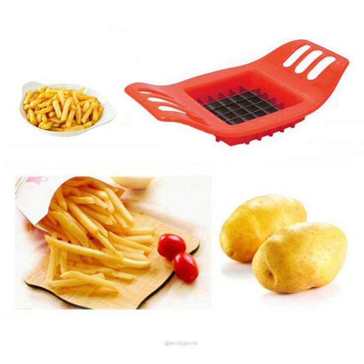 Stainless Steel Vegetable Potato Slicer Cutter Chopper-Kitchen Gadgets-Tac City Goods Co. https://www.taccitygoods.com/products/stainless-steel-vegetable-potato-slicer-cutter-chopper