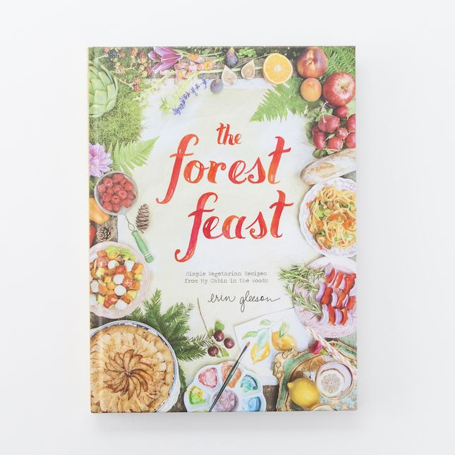 This artsy cookbook would make a great gift for mom.
