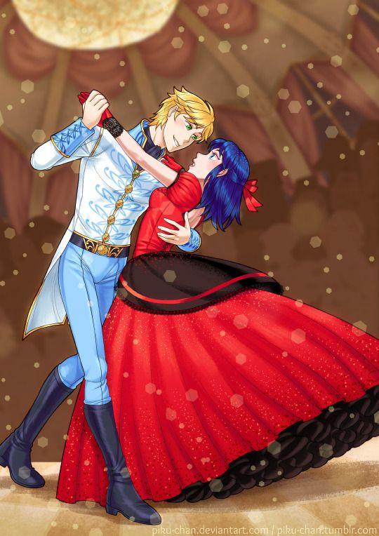 Bro I'm lovin' the ballroom AU for Miraculous