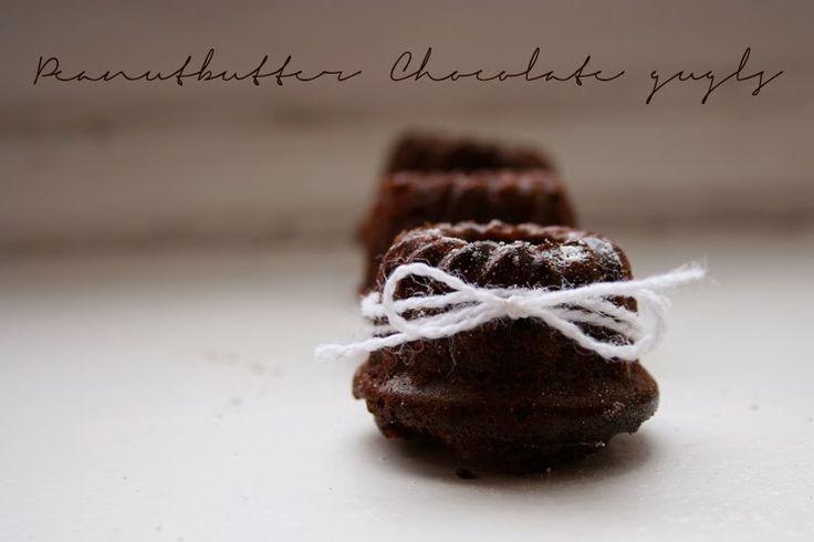Erdnussbutter Schokolade Mini Gugls