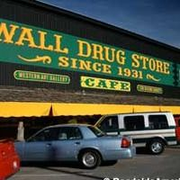 Wall, SD - Wall Drug Store