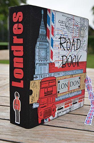 Road Book Londres - Scrap-Ange