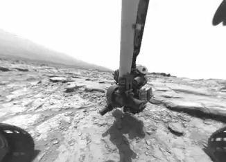 Vídeo mostra as atividades de um ano do jipe-sonda Curiosity em Marte