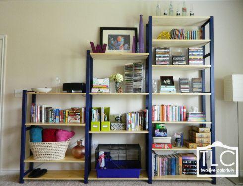 Ikea Ivar Bookshelf  - want to paint my IVAR bookcase in 2 shades