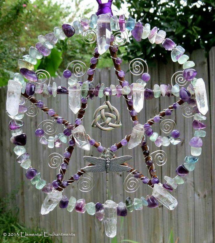 Pagan crystal suncatcher                                                                                                                                                      More
