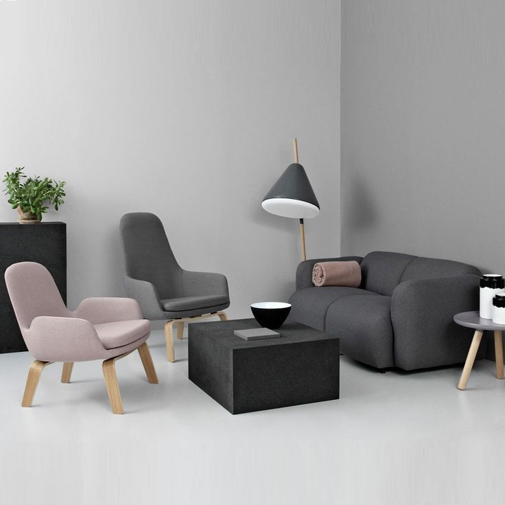 Swell Sofa with Era Lounge chairs, a cosy, co-ordinated relaxed set up that wouldn't look amiss in any home.