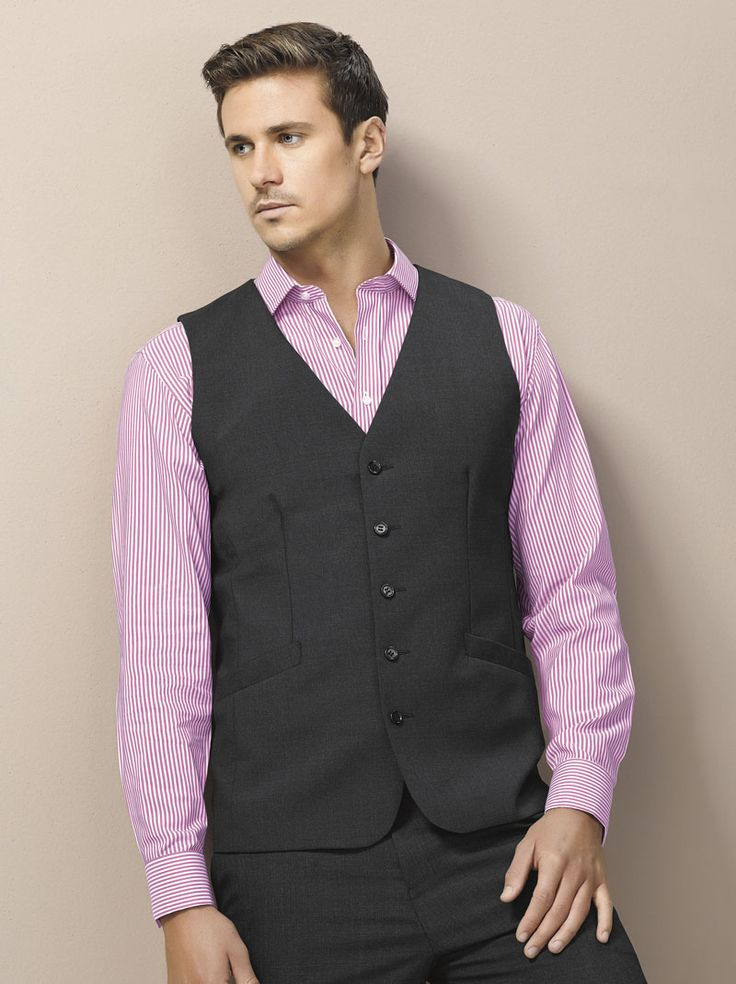 Wool Stretch Longline Vest and Flat Front Pant #bizcorporates #woolstretch #boulevard #woolsuiting