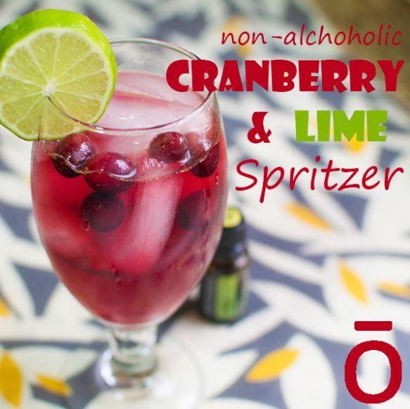 Essential Recipe: Non-Alcoholic Cranberry & Lime Spritzer - See more at: http://doterrablog.com/essential-recipe-non-alcoholic-cranberry-lime-spritzer/#sthash.4uq6LQDl.dpuf
