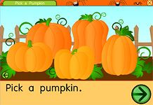 Halloween games online - PICK A PUMPKIN