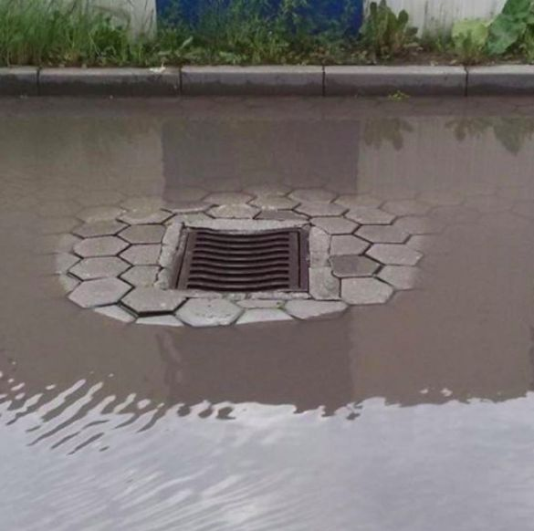 Whoever designed this drain. | 21 People Who Should Be Fired Immediately