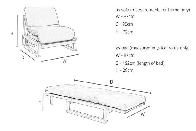 Awesome Loop Single Seater Solid Birch Sofa Bed In 2019 Sofa Bed Pabps2019 Chair Design Images Pabps2019Com