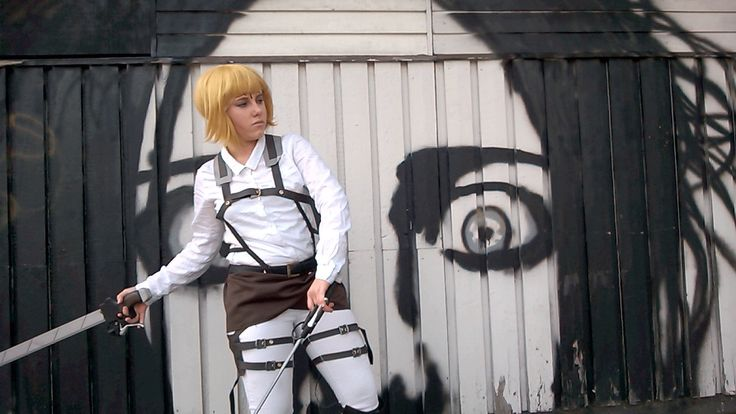 Attack on titan Cosplay GIF by LemonBlast. Armin Shingeki no Kyojin gif