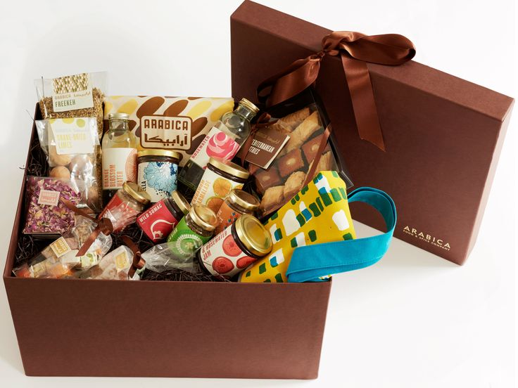 The Ultimate Arabica Hamper and one stop shopped crammed full of middle-eastern larder essentials, that will set up the keenest of home cooks plus enough sweet treats to share with friends.