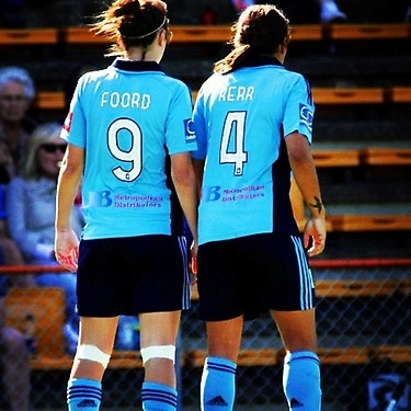 The 2 best friends that anyone could have (Caitlin Foord and Sam Kerr)