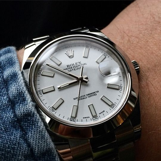 Rolex Datejust II cadran blanc 41mm