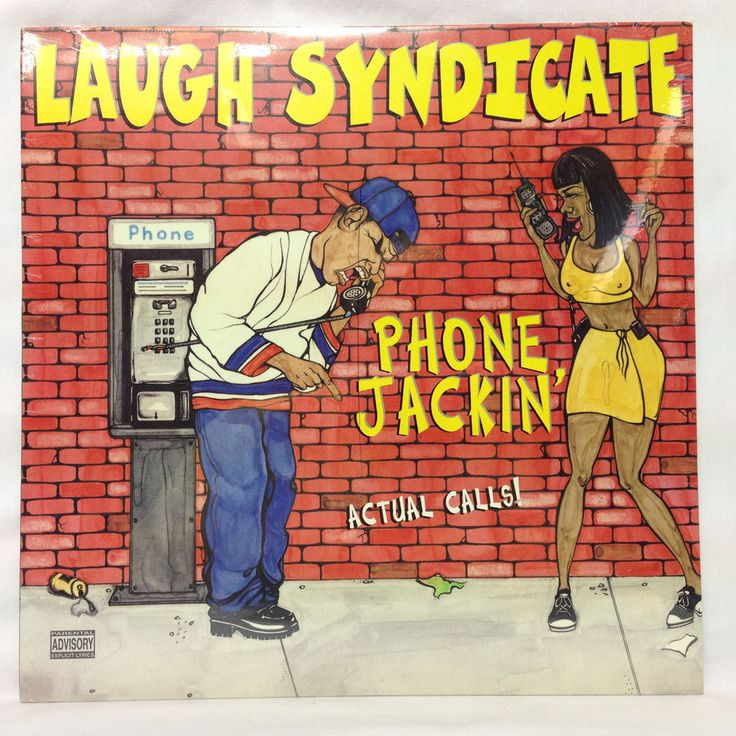 Laugh Syndicate LP Phone Jackin' 1997 Prank Phone Calls OOP SEALED LP Vinyl  #GFunk