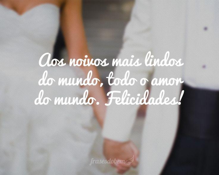 Mensagens Para Noivos No Dia Do Casamento: 42 Melhores Imagens De Parabéns Aos Noivos No Pinterest