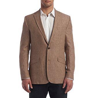 Kenneth Cole® Men's Slim Fit Mini Check Sport Coat