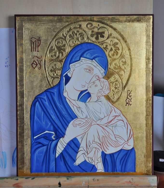 <b>CORSO AVANZATO DORATURA A GUAZZO 80 ORE</b> - pittura dell'icona