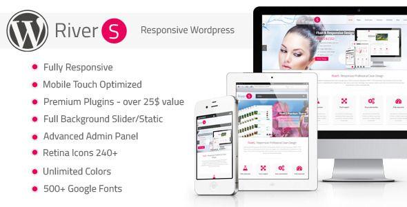 Fluid Retina Ready Wordpress Theme! - RiverS Retina Responsive Multi-Purpose Theme