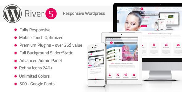 Fluid Retina Ready Wordpress Theme! - RiverS Retina Responsive Multi-Purpose Theme