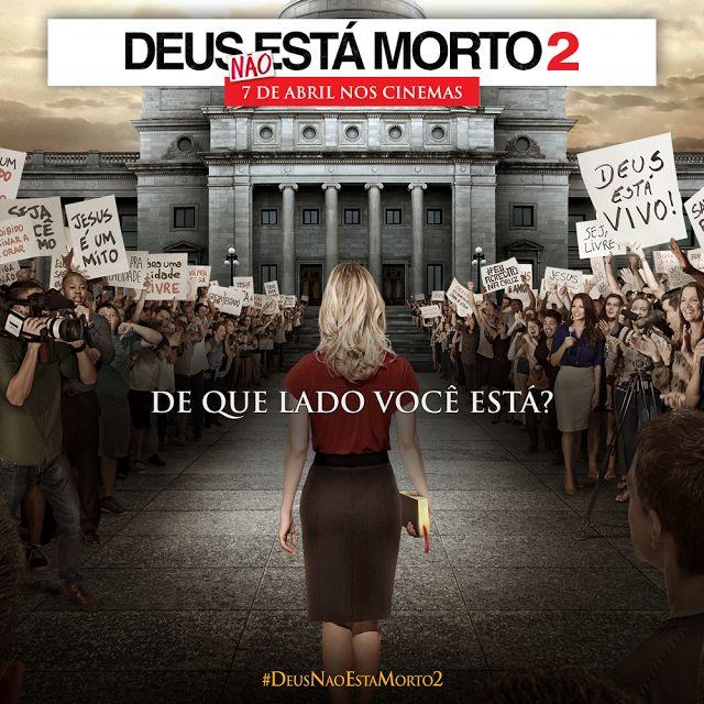 Deus Não Está Morto 2 | God's Not Dead 2  Um dos melhores filmes do seguimento gospel já feito.