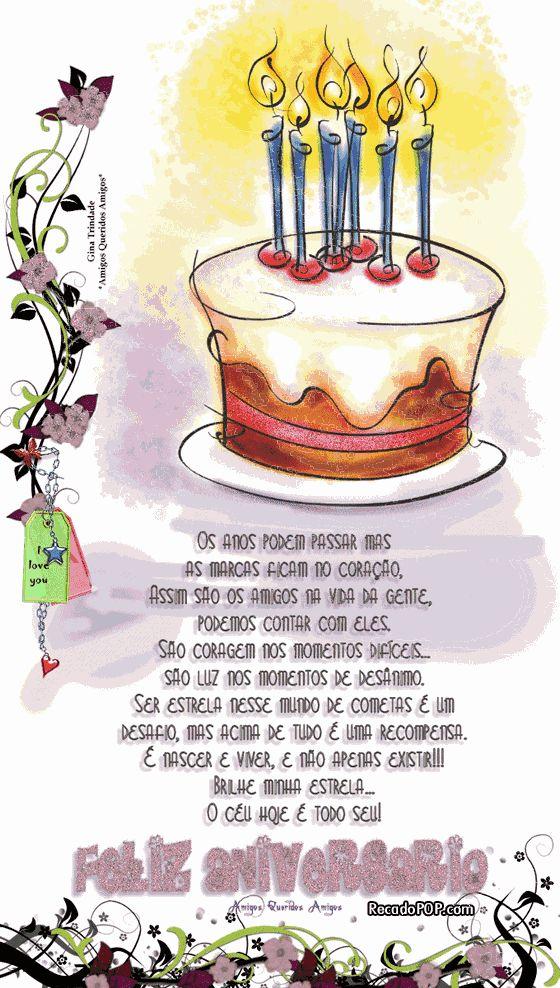 CARTÃO DE ANIVERSÁRIO COM AS MAIS BELAS MENSAGENS. Quer desejar um feliz aniversário para aquela pessoa querida e amiga? Que tal um cartão d...