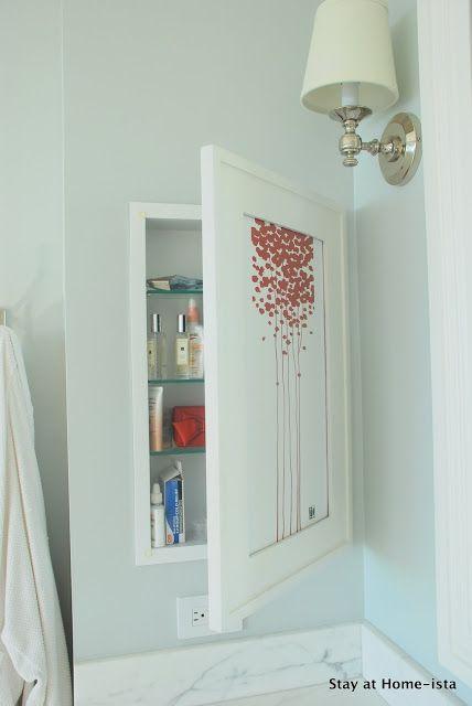 Bathroom Medicine Cabinet makeover diy mirror