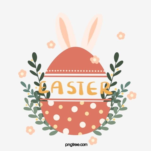 Red Cute Easter Egg Element Easter Clipart Easter Egg Png Transparent Clipart Image And Psd File For Free Download Easter Graphics Easter Backgrounds Easter Eggs