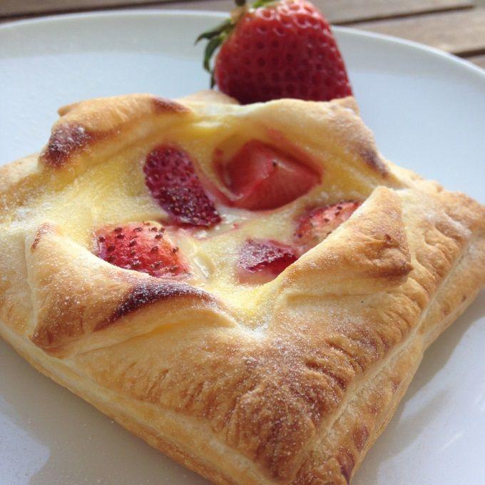 Blätterteig-Pudding-Teilchen Rezept zum Selbermachen - Familienrezepte zum Selberkochen.