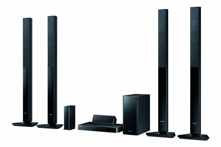 Samsung HT-H5550W 5.1 3D Blu-ray-Heimkinosystem (1000W, WLAN, Bluetooth, Smart TV, kabellose Rücklautsprecher) schwarz: Amazon.de: Heimkino, TV & Video