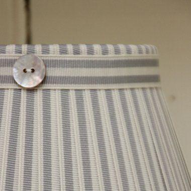 Grey & Cream Stripe
