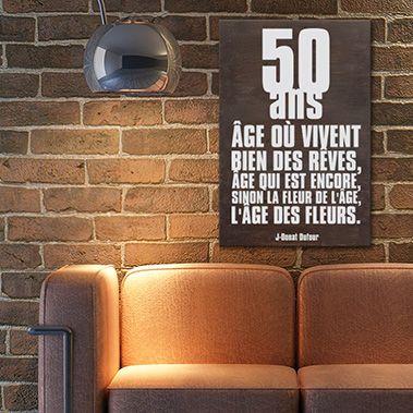 citation anniversaire homme 50 ans