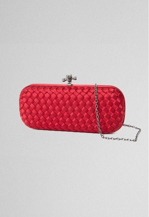 POWERLOOK - Aluguel de Vestidos Online - Clutch Red baguete tressê de cetim Powerlook - vermelha #powerlook #vermelha #baguete #tressê #cetim #red #glamour #party #casamento #festa #madrinha