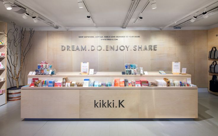 Swedish Australian stationery brand kikki K comes to London with both pop up and permanent stores in Covent Garden, designed by Dalziel