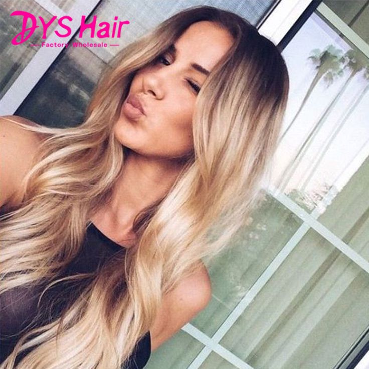 Big Wavy Blonde Grey Ombre Synthetic Wigs for Black Women Female Women's Wig Cheap Long Hair Wigs Synthetic African American Wig