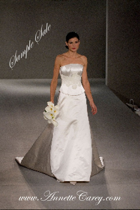 To make for you from £2,800.   ONE ONLY sample sale dress, worn in design salon, size 8-10 available for £300.