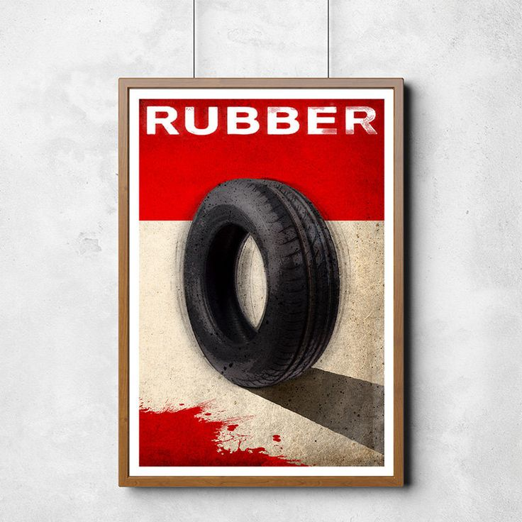 Rubber Movie Poster Art Print [13x19] Fan Art Movie Poster Print (19.95 USD) by SaulsCreative