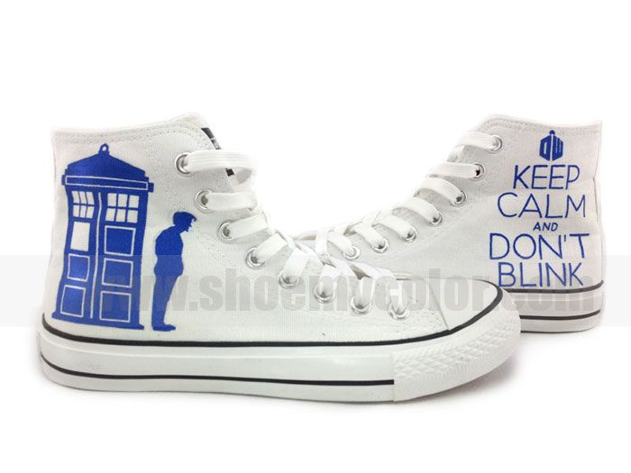 painted on shoes doctor who - Google Search