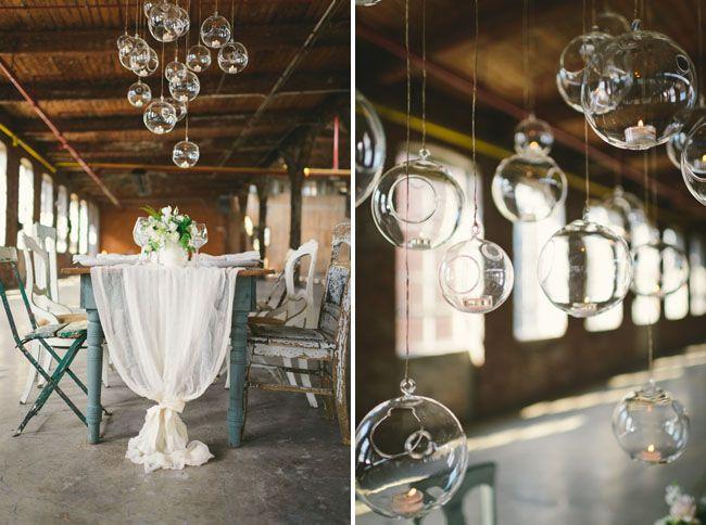 Industrial Wedding | #Wedding #Photography #Bride #Groom #Industrial #Creative #Art | Glass Factory Wedding #Decor #Design