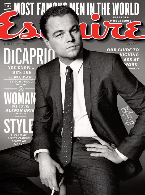 Leonardo DiCaprio: http://www.esquire.com/features/leonardo-dicaprio-interview-0513