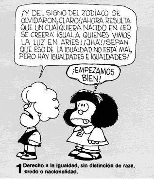 HAZAÑAS DE UNA MAESTRA: Mafalda explica los DERECHOS DEL NIÑO