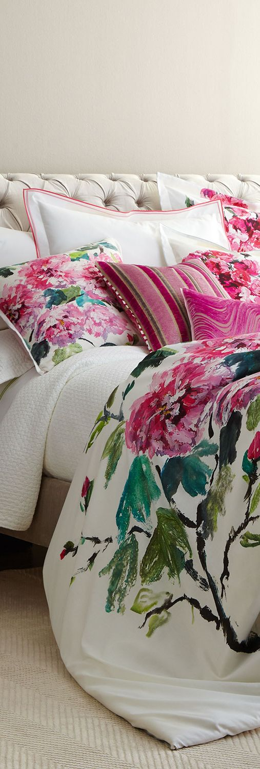Designers Guild Shangai Garden Duvet OHHH!! - HOW ABSOLUTELY SCRUMPTIOUS IS THIS MAGNIFIQUE DUVET!! - TOTAL GORGEOUSNESS!! ⚜