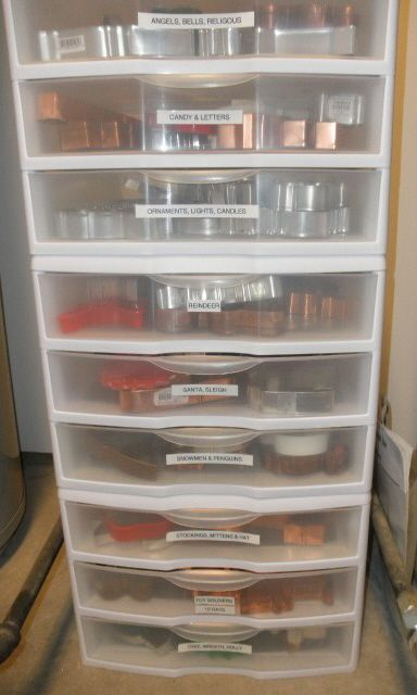 Storage Ideas For Cake Decorating Equipment