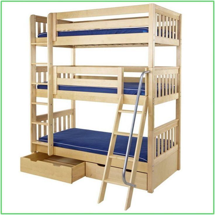 Best 25 Bunk Bed Plans Ideas On Pinterest Loft Bunk