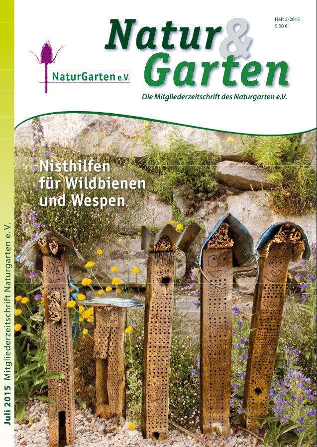 Nisthilfen – Wildbienenschutz im Naturgarten