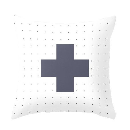 Nordic Dotty Cross Cushions www.cloudninecreative.co.nz