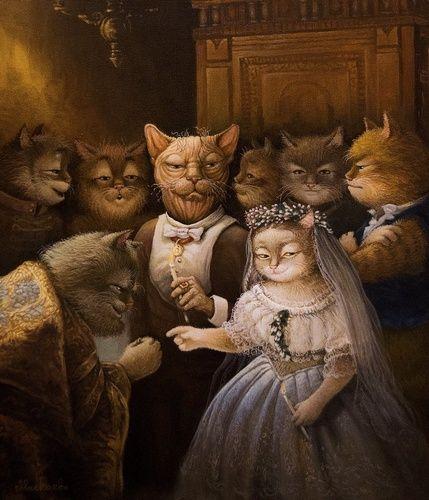 Неравный брак картина А.В.Маскаева